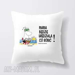poduszki licencjonowana poduszka muminki dla mamy mama będzie wiedziała co robić