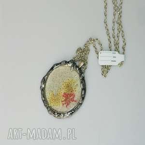 ręcznie robione wisiorki medalion