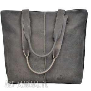 duża torba, worek z nubuku 2605, torebka, prezent, duża, wygodna torebki