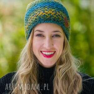 handmade czapki explorer jesienne łąki