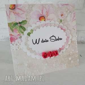 spod igly maryski kartka ślubna, ślub, kartka, personalizacja, pamiątka, scrapbooking
