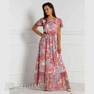 sukienka mia maxi medea, orientalny wzór, maxi, orientalna