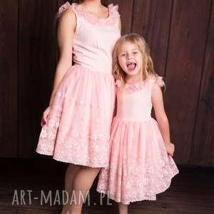 Sukienka damska iga sukienki mrugala sukienka, koral, haft, mama