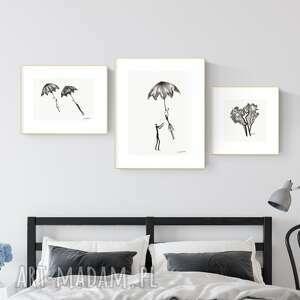 ART Krystyna Siwek! Zestaw 3 grafik wykonanych ręcznie, zestaw