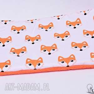 Poduszka płaska do wózka lisy pomarańczowy, poduszka-płaska, płaska-poduszka
