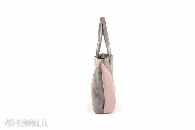 różowe na ramię worek torba triangle 1