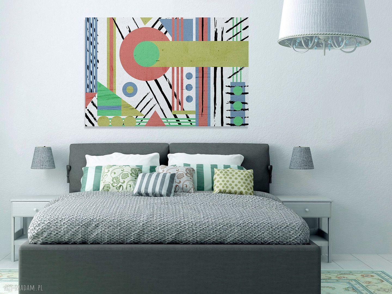 białe obrazy nowoczesny obraz na płótnie - abstrakcja