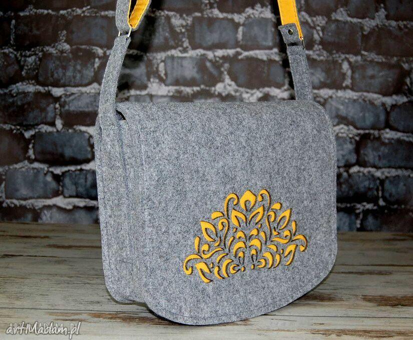 oryginalne na laptopa torba filcowa torebka ramię