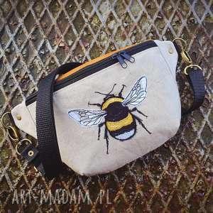 Nerka mini trzmiel zapetlona nitka nerkalen, trzmiel, pszczółka