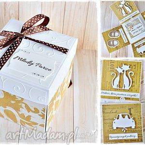 niezwykłe ślubne życzenia - eksplodujące pudełeczko, exploding box