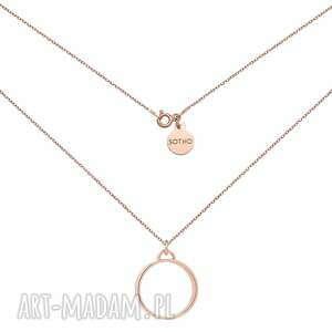 sotho naszyjnik z różowego złota z grubą - różowezłoto