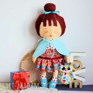 lalki dobra wróżka - ofelia opiekunka lasów i przyjaciółka sów 42 cm
