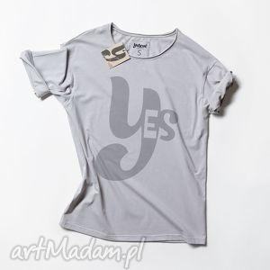 handmade koszulki yes koszulka z napisem