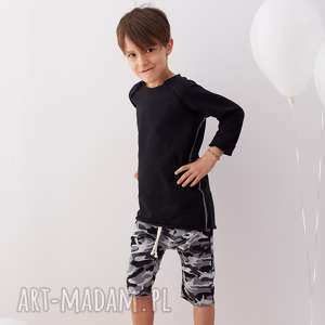 Bluza BLACK, bluza, raglan, dziecko, bawełna, surowa