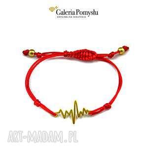 Bransoletka - linia życia, sznurek, linia, puls