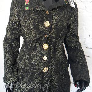 folk design- płaszcz unikat - folk, design, płaszcz, unikat