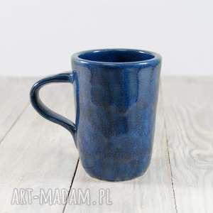 Kubek niebieski, kawa, herbata, do-pracy, do-herbaty, do-kawy, ceramiczny
