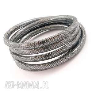 bransoletki bransoletka - graphite, rzemień, syntetyczny, magnes, stal, szlachetna