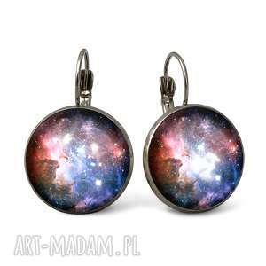 hand-made kolczyki carina nebula - duże kolczyki wiszące