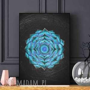 Mandala A2, plakat, plakaty, sztuka, obraz, mandala
