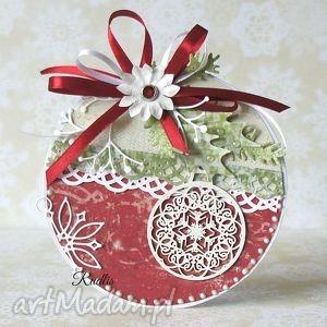 świąteczne życzenia na okrągło, kartka, świąteczna, kartki