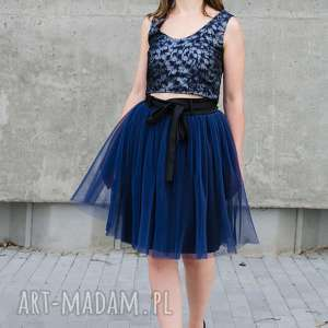 handmade spódnice tiulowa plisowana spódnica