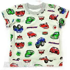 Samochody t-shirt dla chłopca, koszulka w auta, bawełna 100%