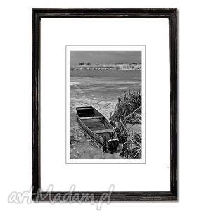 Imprisoned, fotografia autorska, fotografia, pejzaż, łodzie, rzeka
