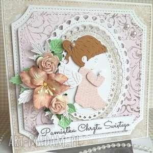 Kartka w pudełku Chrzest Święty, chrzest-święty, uroczystość, dziecko, dziewczynka