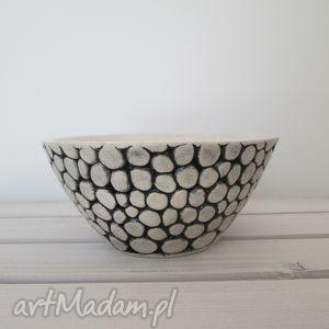 kuleczkowa miseczka, miska, ceramiczna