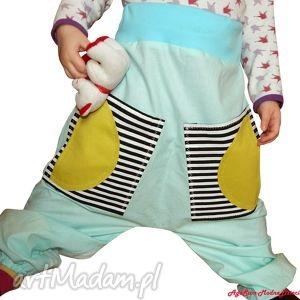 ubranka spodnie dziecięce pumpy, spodnie, szarawary, unisex, chłopiec