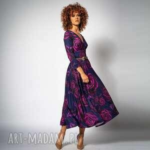 sukienki amelia magic rose - koktajlowa sukienka