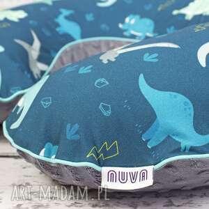 duża poduszka do karmienia - dinozaury, poduszka, karmienia, chłopca