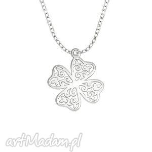 celebrate - clover 4 - necklace lavoga - łańcuszek, koniczynka