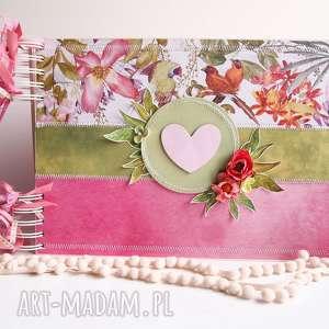 handmade scrapbooking albumy kolorowy album/a4
