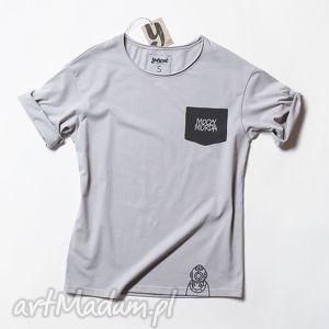 MOCZYMORDA POCKET koszulka oversize, tshirt, napisy, nadruk, unisex