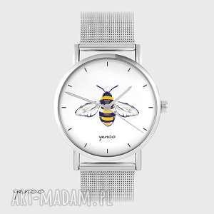 Zegarek, bransoletka - pszczoła metalowy zegarki yenoo