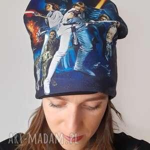 czapki czapka gwiezdne wojny, star wars, luck slywalker, plakat filmowy