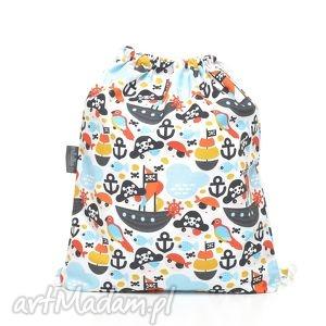 handmade dla dziecka plecak worek przedszkolaka piraci