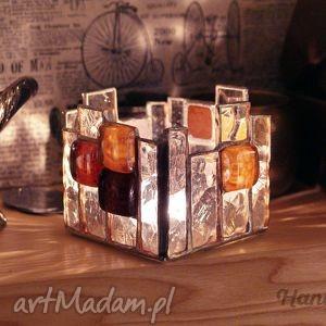 lampion świecznik witrażowy wieża, witraż, świecznik, dom