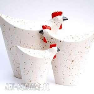 ręcznie wykonane ceramika kury