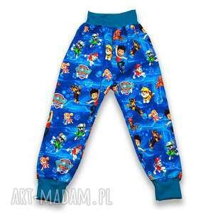 psi patrol niebieskie spodnie dla chłopca, rozmiary 56-122