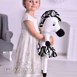 Prezent Przytulanka dziecięca zebra, poduszka-zebra, minky, przytulanka-minky
