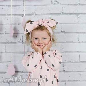 opaska bawełniana zawiązywana dla dziewczynki - bawełna