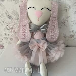 groko design irminka króliczek z personalizacją, króliczek, zabawka, pokój