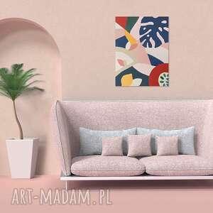 dekoracje obraz dekoracyjny dżungla, nowoczesny obraz, stylowa dekoracja ścienna