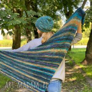 ręcznie robione szaliki lekka ciepła chusta