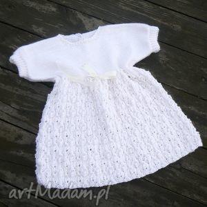 sukieneczka zosia - sukienka, niemowlę, dziecko, dziewczynka, chrzest