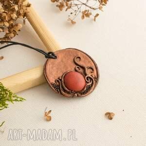 wyjątkowy prezent, wisior w formie medalionu, medalion, wisior, inspirowanynaturą