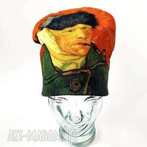 Czapka van gogh czapki katarzyna staryk portret, gogh, fajka